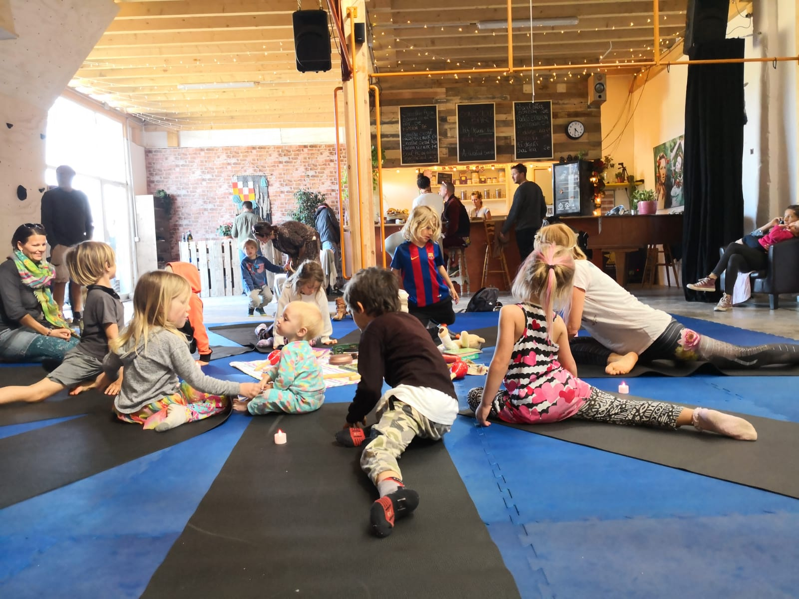 Healing powers of yoga for young people.