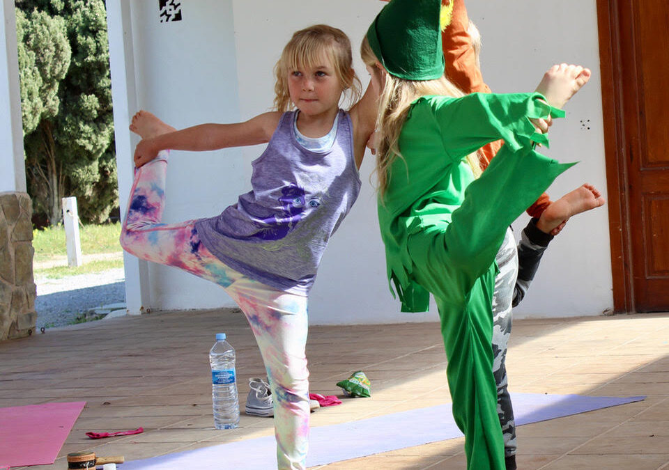 Why combine yoga and dance for children?